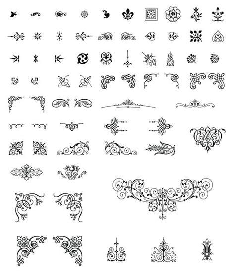 Wedding Font Corel by 196 Best Vectors Images On Arabesque Fonts