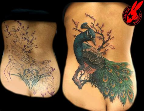 tattoo generator on back a seriously beautiful way to cover a tacky and probably