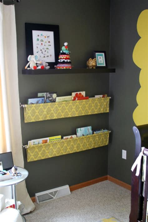 display books simple diy hanging kids book display kidsomania