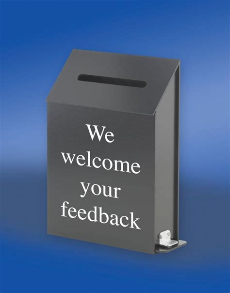 comment pictures acrylic comments box customer feedback comments boxes