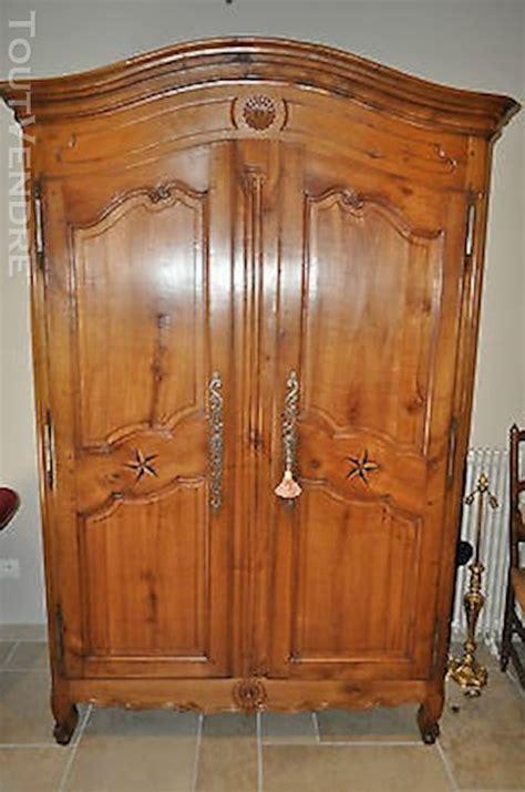 armoire en merisier massif armoire ancienne louis xv clasf