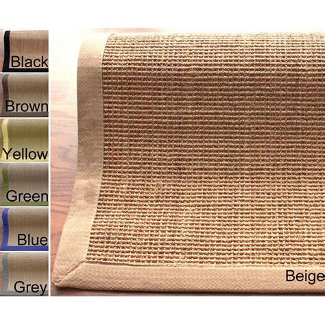 10 x 16 fiber rug nuloom handmade eco fiber cotton border
