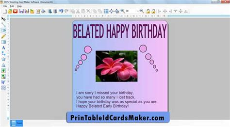 printable birthday cards maker download free printable greeting card maker by printable
