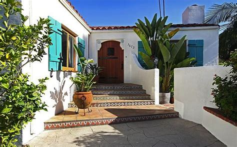 spanish revival colors spanish revival evokes old world grandeur soulful abode