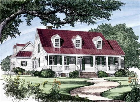 traditional country house plans colonial cottage country farmhouse southern traditional
