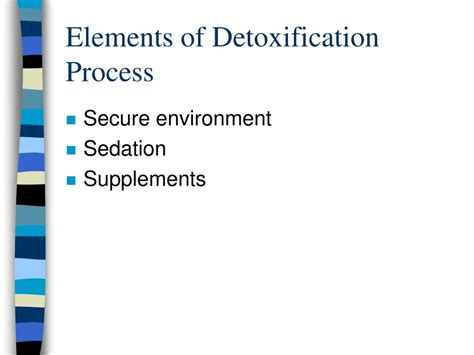 Sedated Detox by Ppt Substance Related Disorders Dual Diagnosis