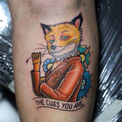 Tattoo Bandit Instagram | fantastic mr fox tattoo by julio ferrer at sacramento