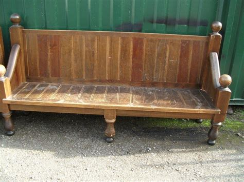 pub benches secondhand vintage and reclaimed bar and pub qty of