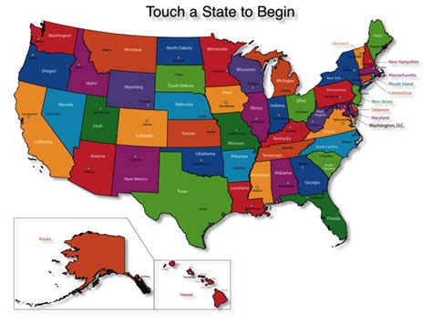 usa map with states and their capitals map of the united states and their names central america
