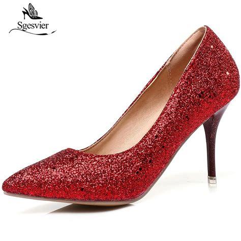fashion high heel aliexpress buy sgesvier 2018 new fashion high