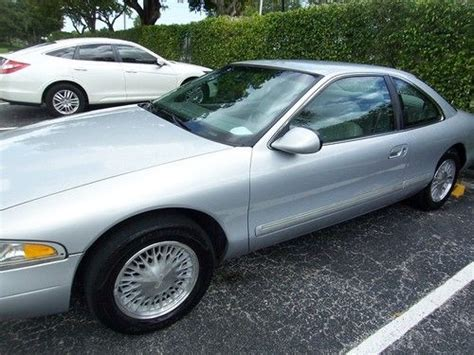sell used 1998 lincoln mark viii clean florida car one owner no accidents in fort