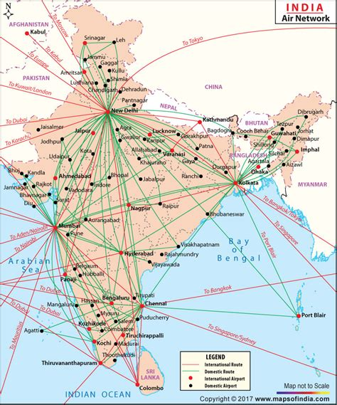 route map from usa to india india air routes network map air routes network map