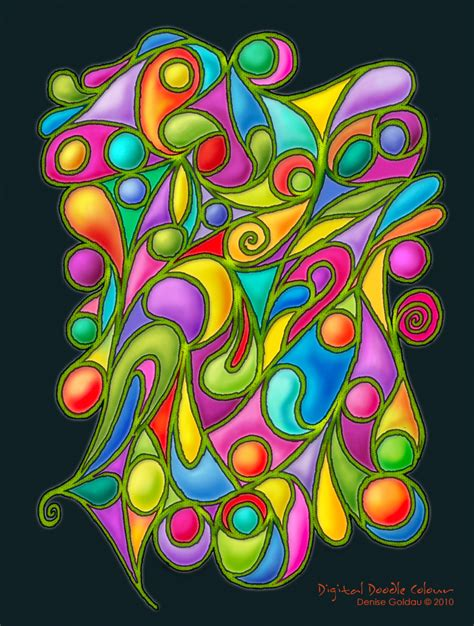doodle digital digital doodle colour by g on deviantart