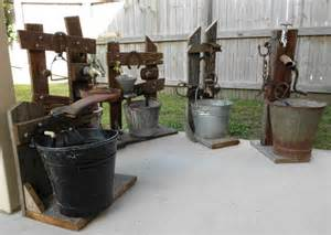 old rustic water features water fountains pinterest