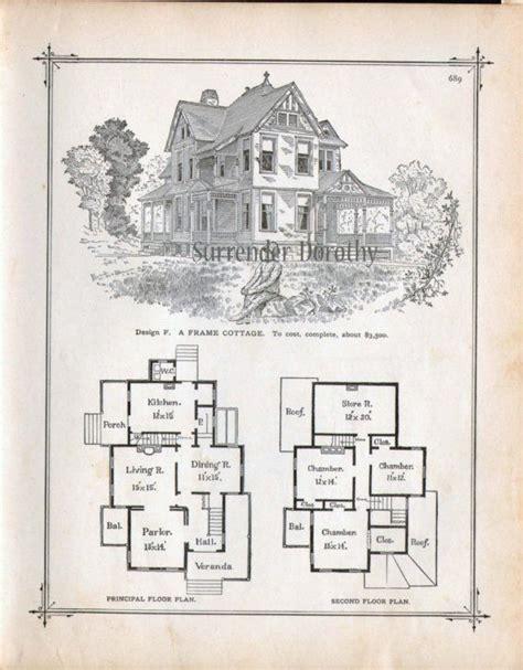 gothic frame dwelling vintage house plans 1881 antique frame cottage house plans 1881 antique victorian