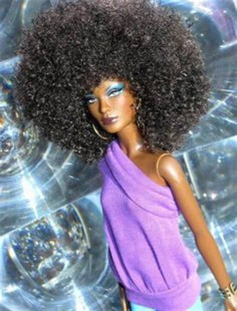 black doll with big afro 1000 images about black barbies on black