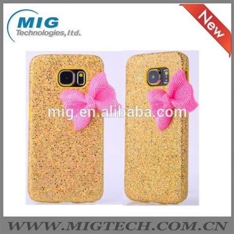 Shining Samsung S6 Shining Style With Bow For Samsung S6 Phone