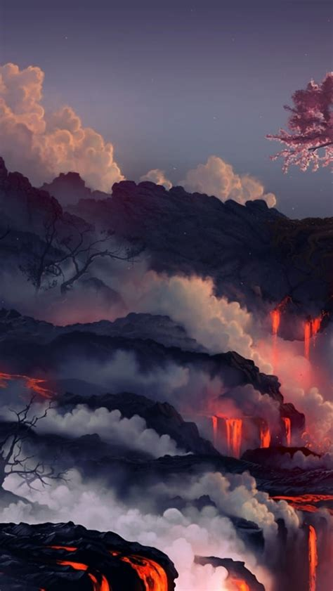 lava eruption hd wallpaper hd latest wallpapers