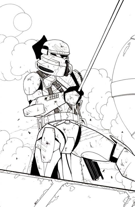 coloring pages of clone troopers clone trooper coloring pages coloring home