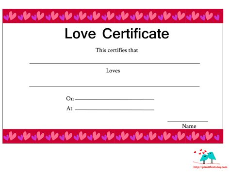 certificate templates for pages free printable certificates