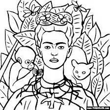 libro frida kahlo colouring books resultado de imagen para obras de frida kahlo para colorear frida obras de frida
