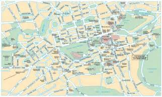 map of edinburg edinburgh map and guide tourist publications