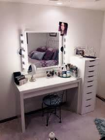 Makeup Vanity Ideas Ikea Makeup Storage Vanity Simple Functional I Would Stick