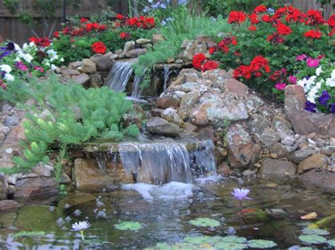 Waterfall Landscaping Ideas 21 Waterfall Ideas To Add Tranquility To Rock Garden Design