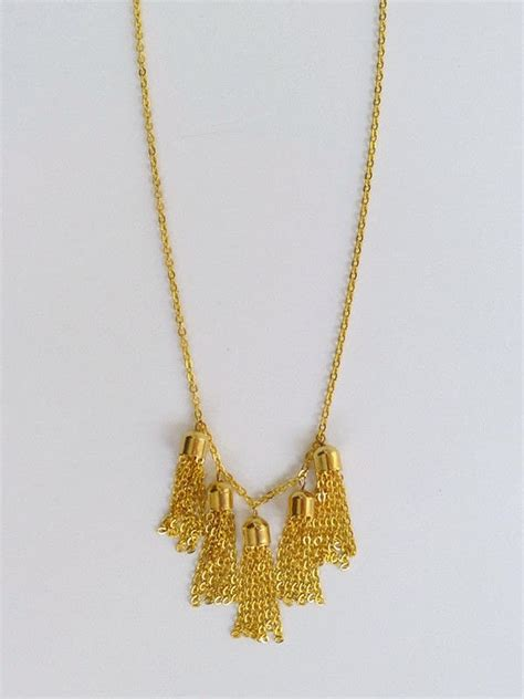 how to make tassels for jewelry diy chain tassel necklace 183 how to make a chain necklace
