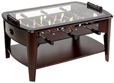 foosball table with glass top the top 4 best foosball coffee tables in 2018 reviews