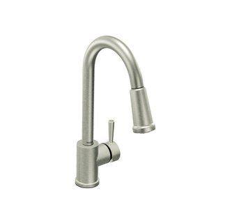 moen level kitchen faucet moen 7175csl classic stainless single handle kitchen