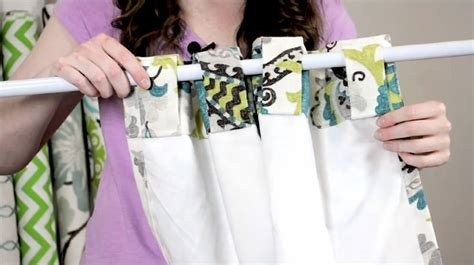 sewing lined curtains 25 best ideas about tab curtains on pinterest make