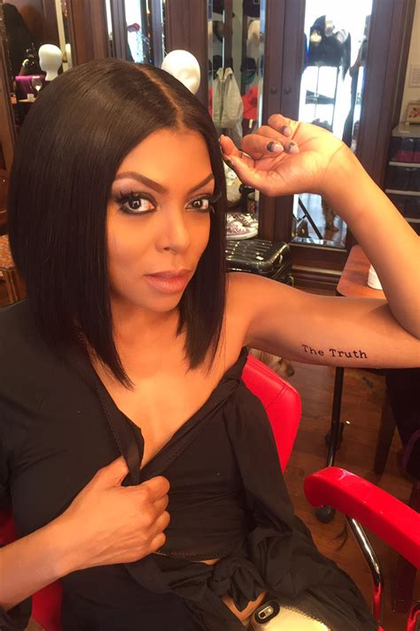 pics for gt taraji p henson tattoo