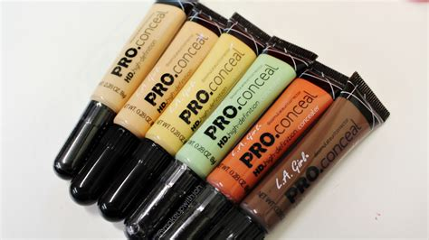 Promo La Pro Conceal l a pro hd concealer 6 new shades makeup with jah