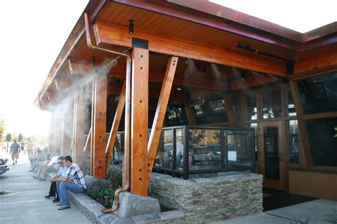 Commercial Patio Misters by Cool Effects Misting Systems Limited Commercial