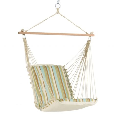 Single Seat Hammock Swing Single Cushioned Swing Bay Ssg2 Hatteras