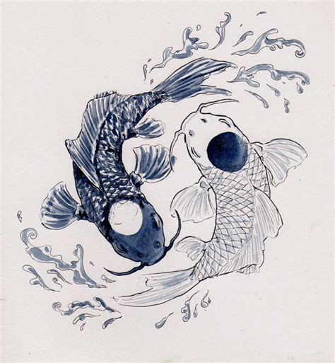 tato ikan koi yin yang 424 best images about ink on pinterest lion tattoo
