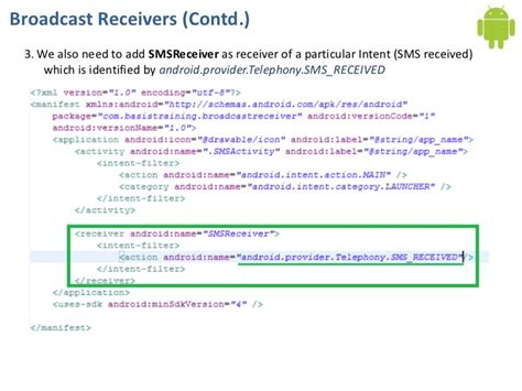 android broadcastreceiver tutorial android application component broadcastreceiver tutorial