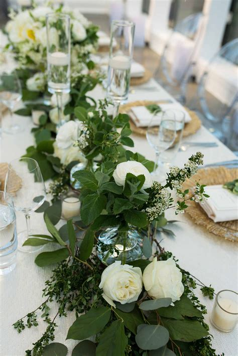 wedding table runners for tables greenery table runner wedding table runners
