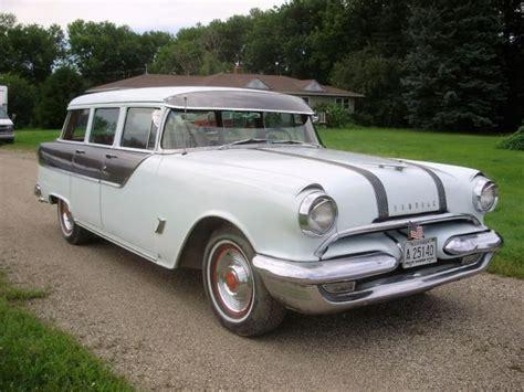 55 Pontiac For Sale 55 Pontiac Chieftain Station Wagon Classic Pontiac