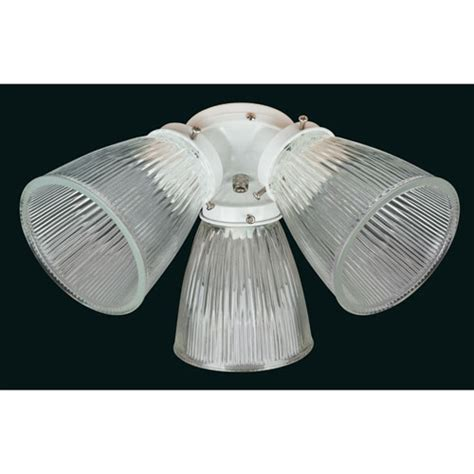 white glass ceiling light concord fans 3 light white with clear glass ceiling fan