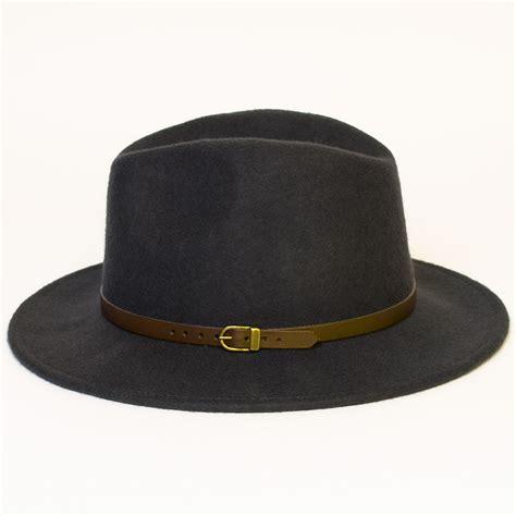 Handmade Felt Hats - wool felt handmade fedora hat