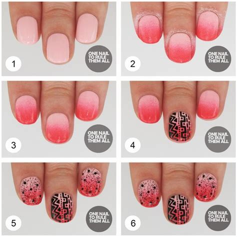 nail for beginners step by step at home