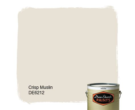crisp muslin de6212 dunn edwards paints
