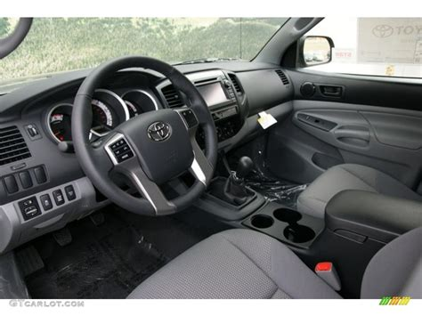 Toyota Tacoma 2013 Interior by Graphite Interior 2013 Toyota Tacoma Access Cab 4x4 Photo 72540207 Gtcarlot