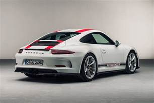 Newest Porsche New Porsche 911r Revealed The Purist S Choice By Car