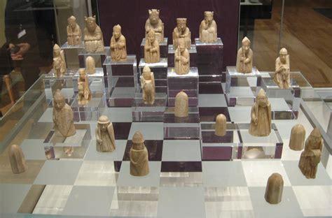 The Lewis Chessmen ajedrez de la isla de lewis