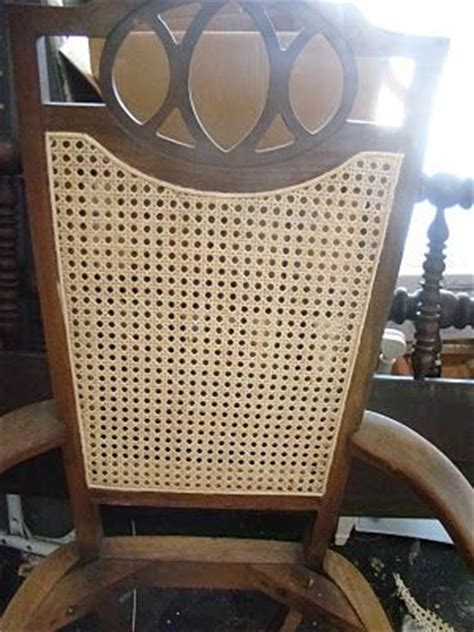 How To Recane A Chair by Re Caning A Chair How To Recaning Chairs