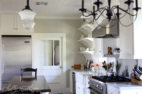 Farmhouse Kitchen Lights by Louisiana Farmhouse Mathis Interiors