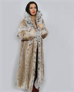 product details full length lynx coat